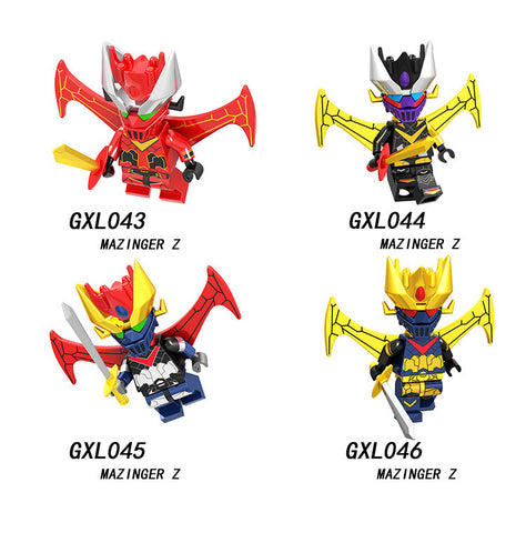 Mazinger Minifigures Blocks