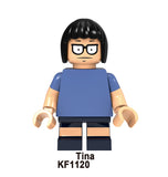 Bob's Burgers Minifigures Blocks