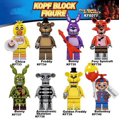 Five Nights at Freddy's Figures Block
