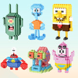 BALODY SpongeBob Patrick Star Squidward Mr. Krabs Sandy Plankton Blocks