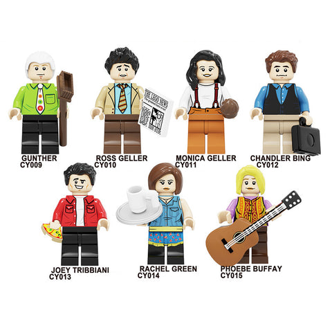 Friends Minifigures Blocks
