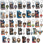 Movie Hero Keychain Pendant (Marvel, The Avengers, Harry Potter, One Piece, etc)