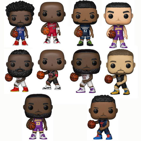 NBA Collectable Sports Stars Series