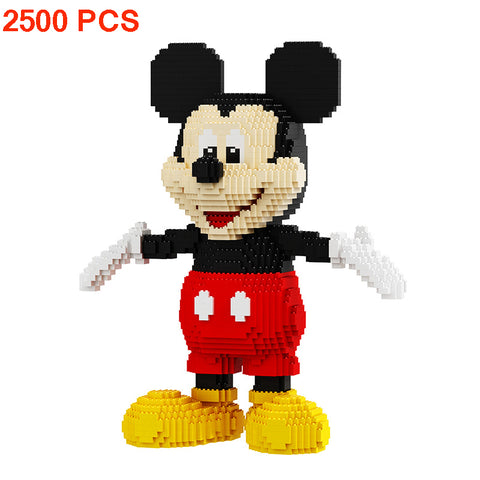 BALODY Disney Mickey Mouse Donald Duck Building Blocks