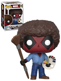 POP Deadpool Bob Ross Model