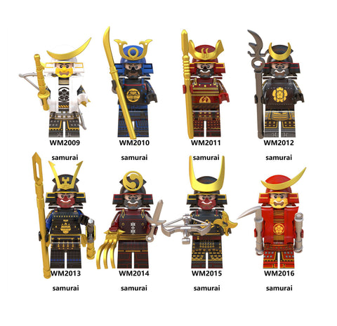 Samurai Warrior Building Blocks
