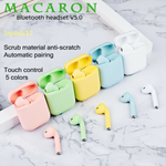 Macaron inPods 12 Bluetooth Earphone 5.0 Wireless Headphones inPods 12 Sports Headset with Mic