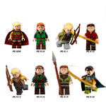 The Hobbit The Lord of the Rings Minifigures Building Block