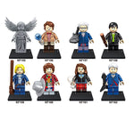 Doctor Who The Weeping Angel Matt Smith Minifigures Blocks
