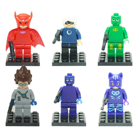 Masks Hero Minifigures Blocks