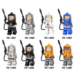 Resident Evil Minifigures Blocks