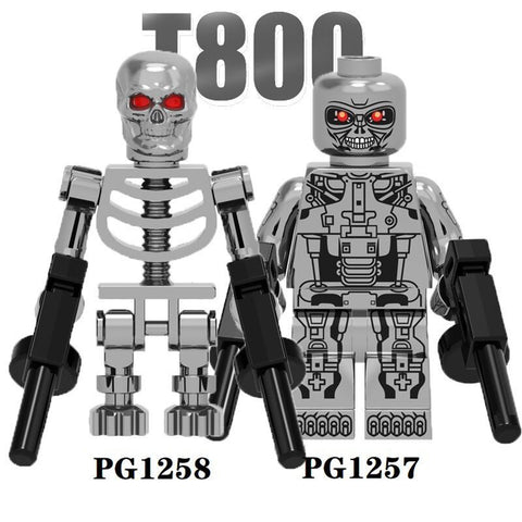 Terminator Minifigures Blocks