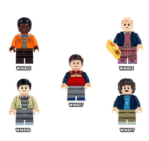 Stranger Things Minifigures Blocks