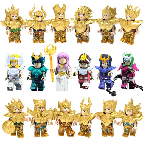 Gold Saints Building Blocks