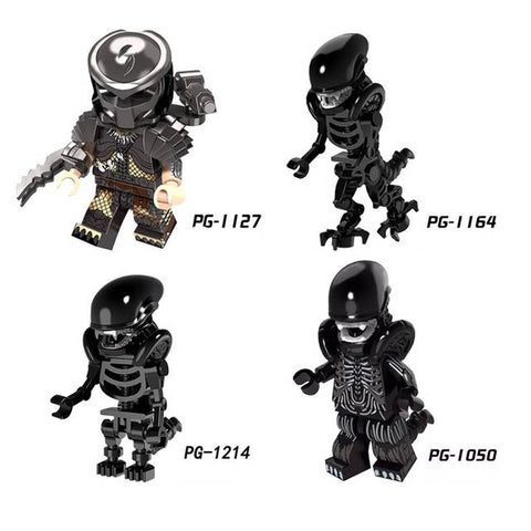 Alien Minifigures Blocks