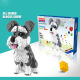 BALODY Cute Dog Plastic Building Blocks