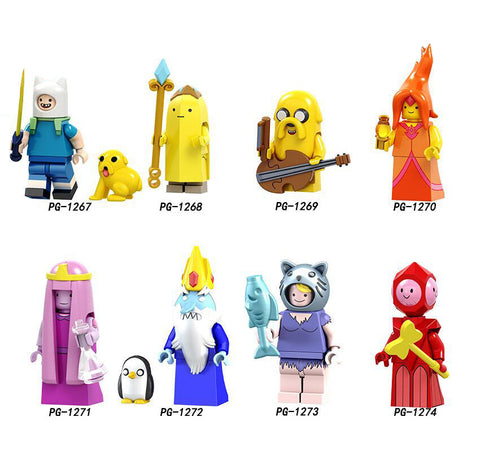 Adventure Time Minifigures Blocks
