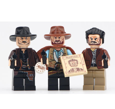 The Good,the bad and the ugly Minifigures Blocks