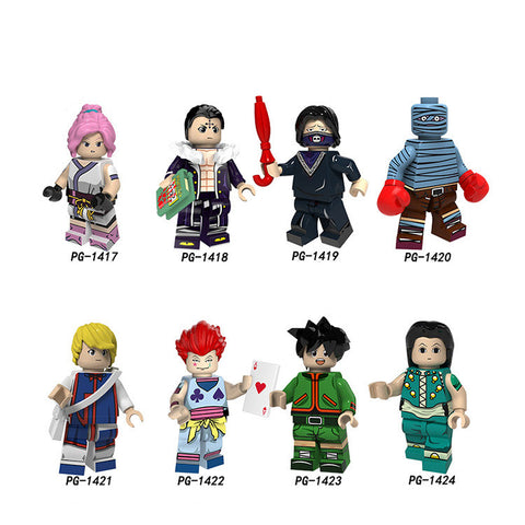 HUNTER×HUNTER Minifigures Blocks