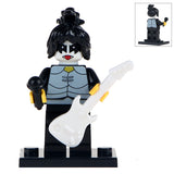KISS Rock Band Character Minifigures Blocks