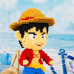 BALODY One Piece Luffy Chopper Model Mini Blocks
