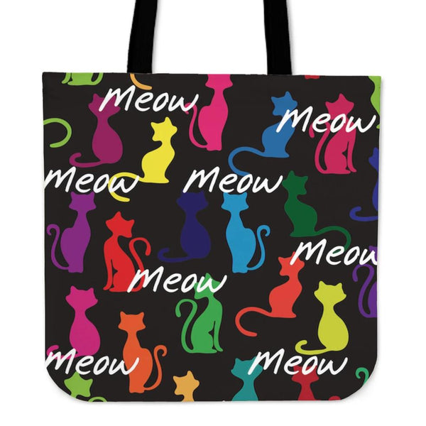 Meow Cat Cloth Tote Bag