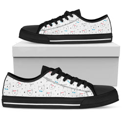 Cute Cats Women's Low Top Shoe