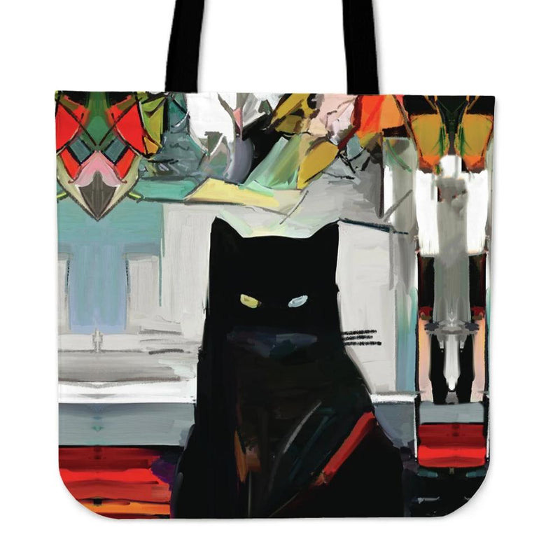 Art Cat V Cloth Tote Bag