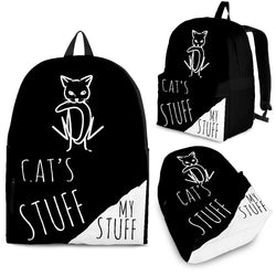 Black Cat's Stuff Backpack