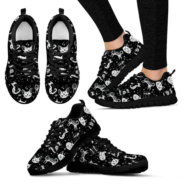 Cats black Women's Sneakers