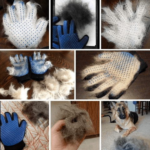 Cat Grooming Brush Glove - Customer Review