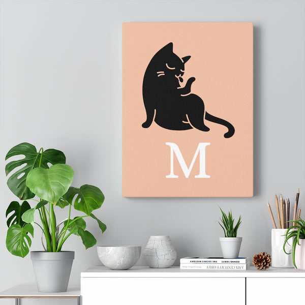 Spoiled Cat Canvas MEOW - M part 2