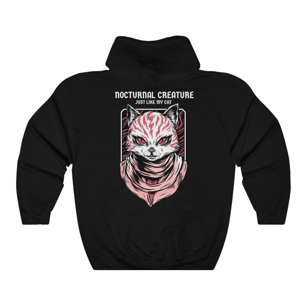 Nocturnal Creature Woman Hoodie 1