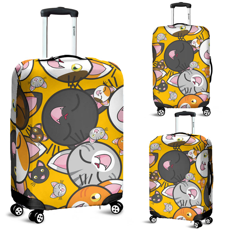 Funny Cats Luggage Cover - image 1