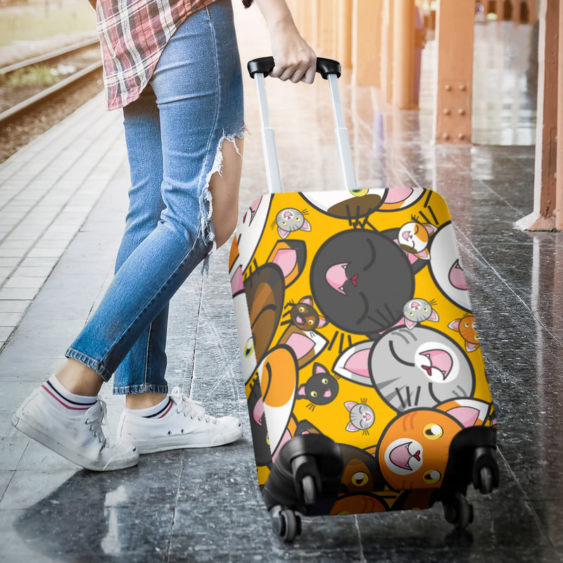 Funny Cats Luggage Cover - image 2