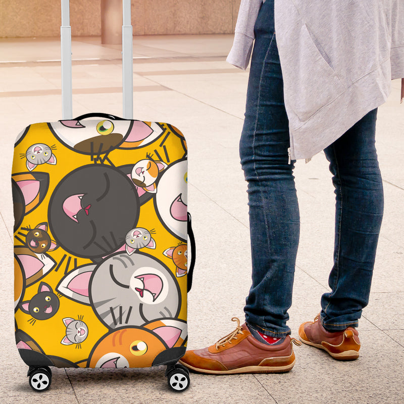 Funny Cats Luggage Cover - image 4