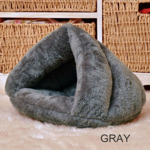 Comfortable Cave Bed for Cat - Gray Colour