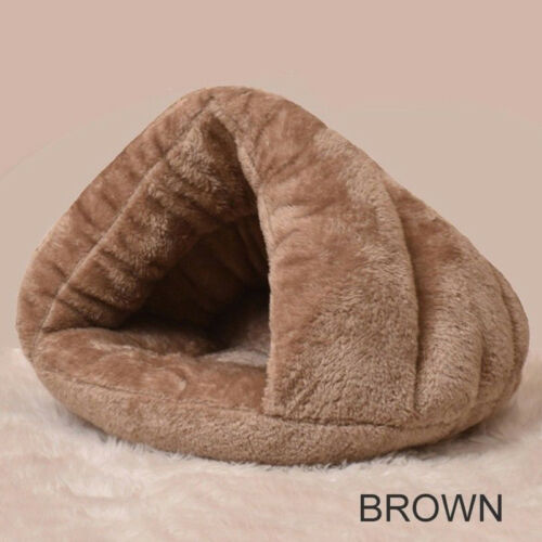 Comfortable Cave Bed for Cat - Brown Colour