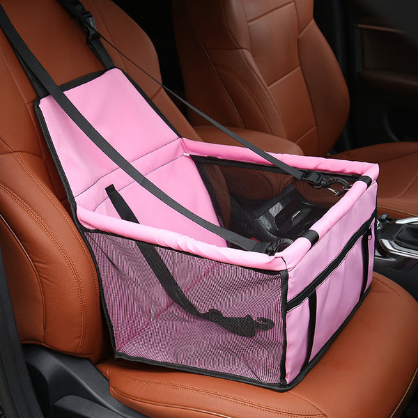 Cat Car Seat Hammock - Pink Colour