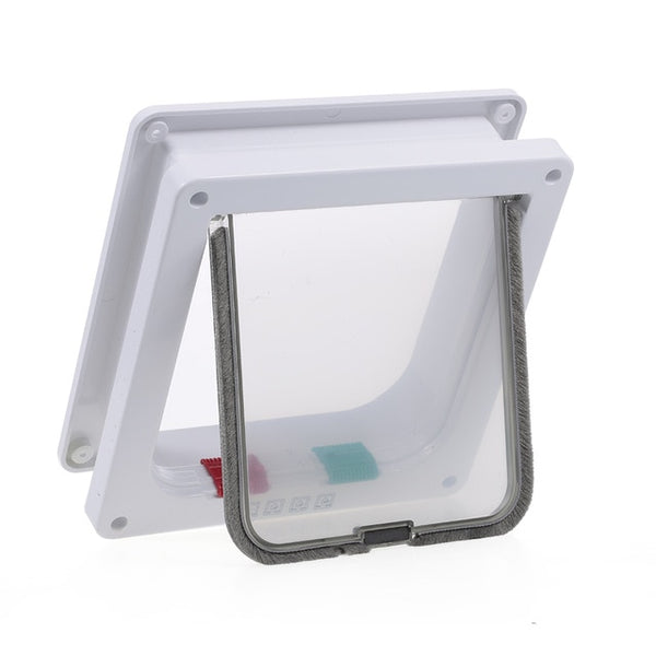 Safety and Flexible Cat Gates - White Colour