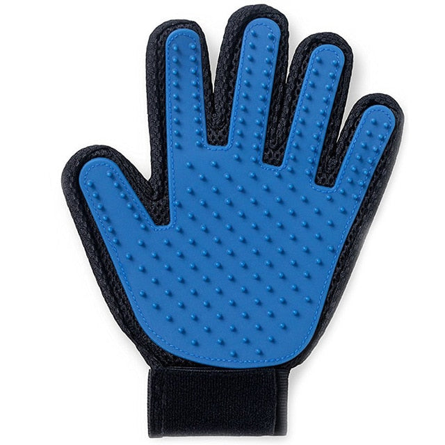 Cat Grooming Brush Glove - Left Side