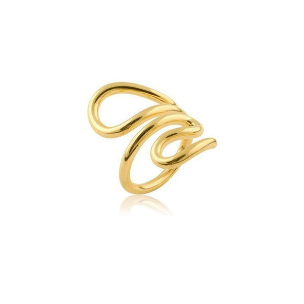 LOOPY RING GULD