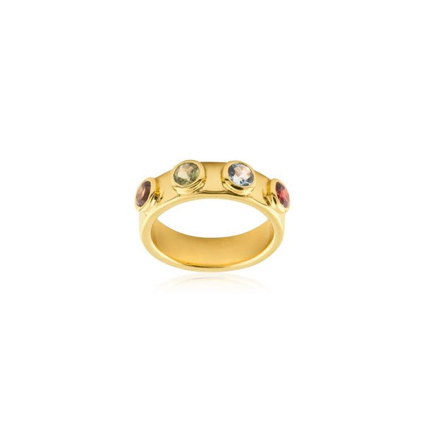 STONE MANIA RING GULD