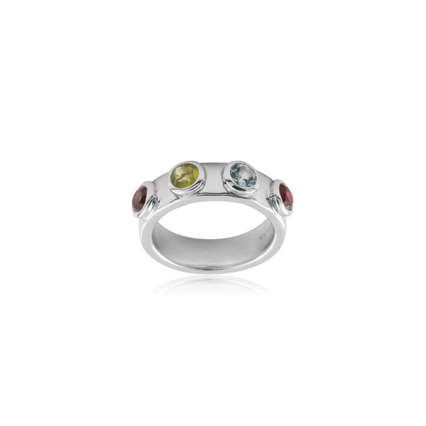 STONE MANIA RING SILVER