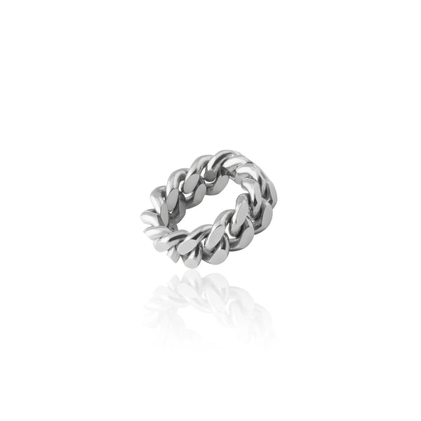 PANSAR THIN RING SILVER