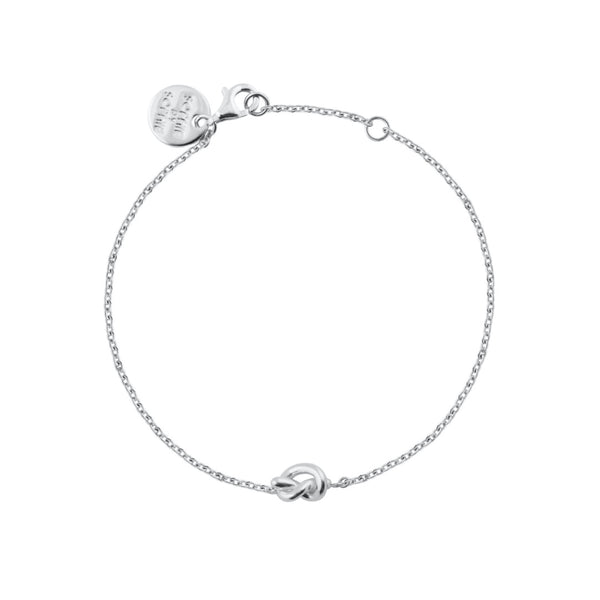 KNOT ARMBAND SILVER