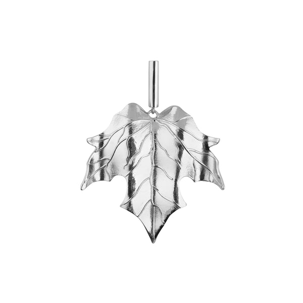 LEAF ÖRHÄNGEN ONE PIECE SILVER