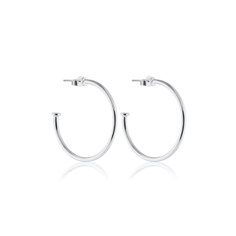 HOOPS PLATE SILVER M