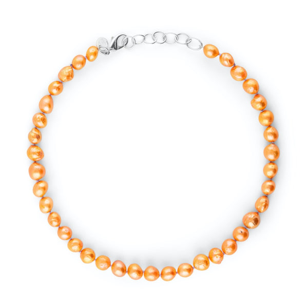 BAROQUE COLOURPOP HALSBAND ORANGE