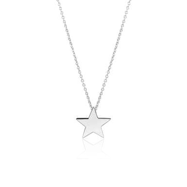 STAR LARGE HALSBAND SILVER